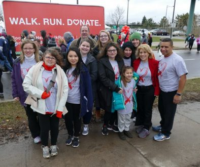 Heart Walk Team Photo