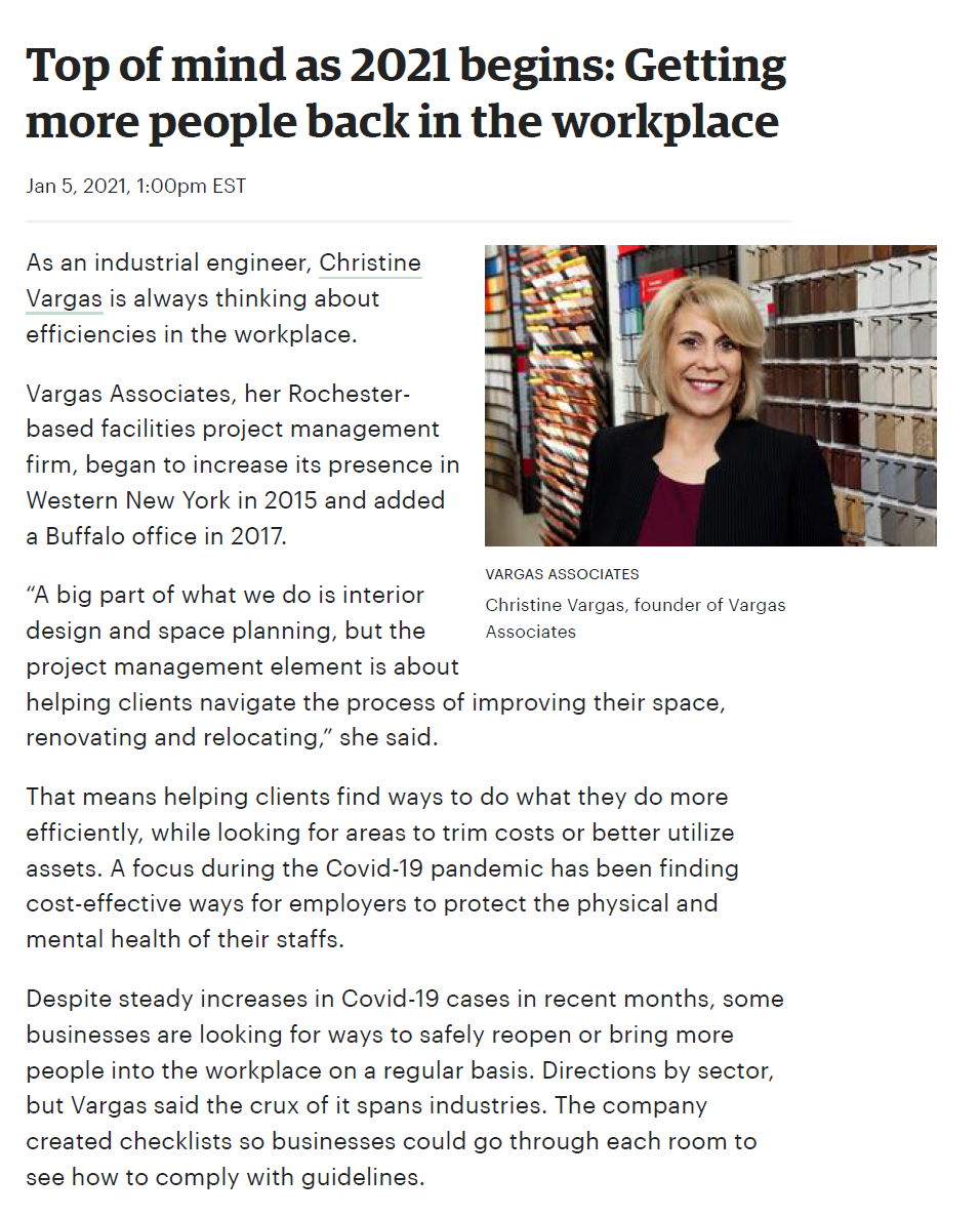 Top of mind as 2021 begins_ Getting more people back in the workplace - Buffalo Business First_v4